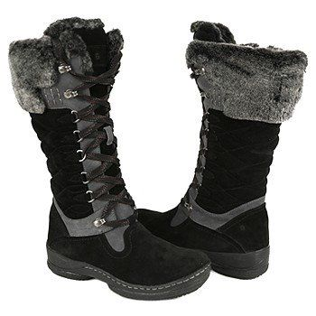 Black Winter Boots Women - Boot Hto