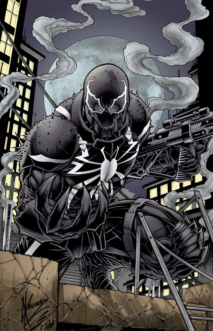 Agent Venom by firepunk626 on deviantART Marvel and DC