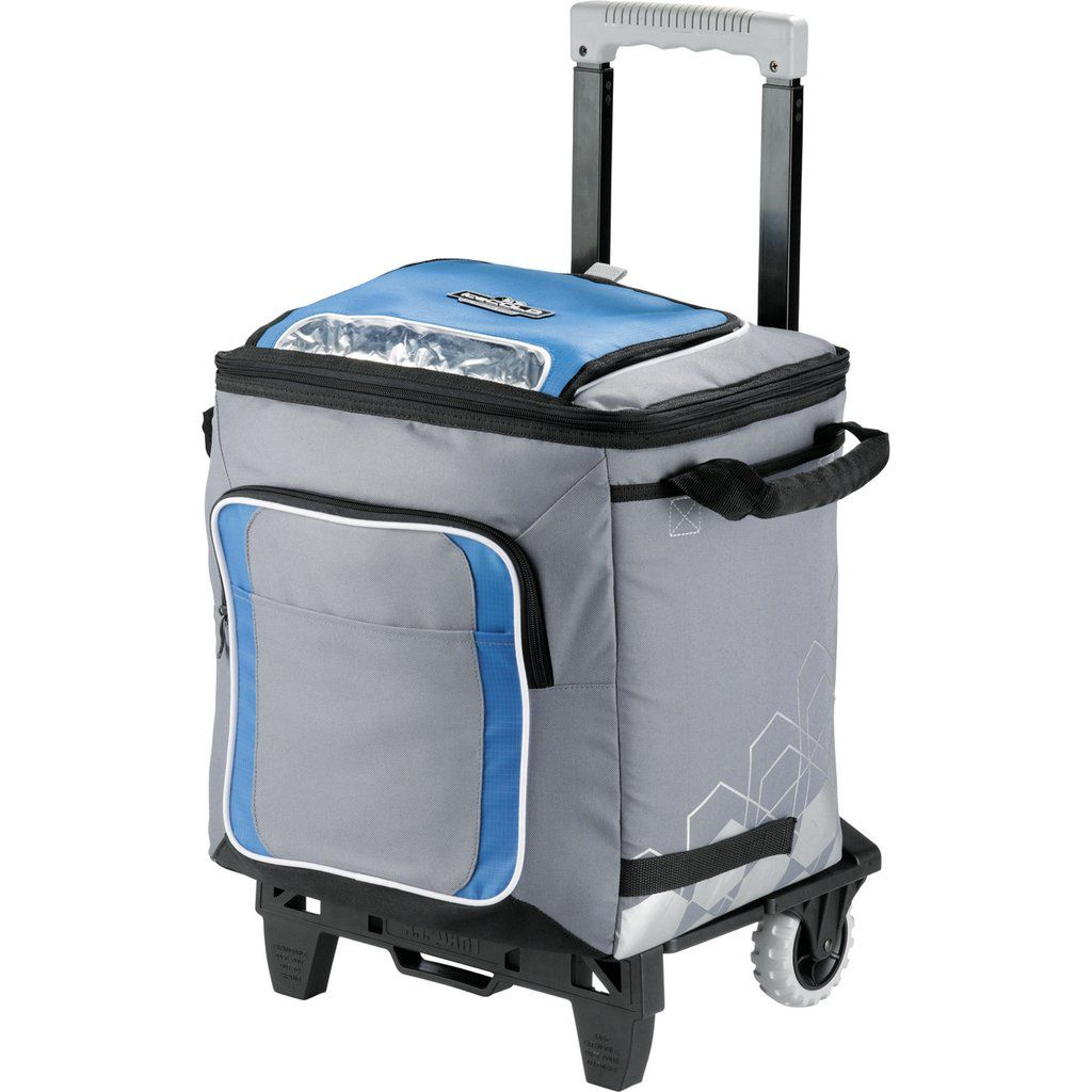 50 can cooler bag on wheels with detachable at cart