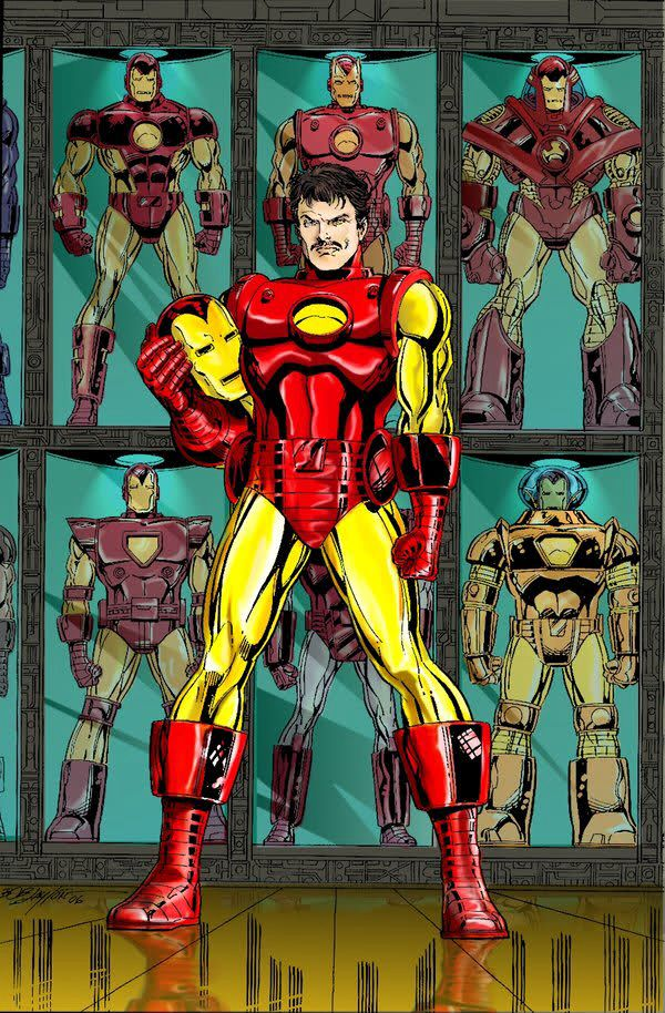 Iron Man Anthony Tony Stark Is A Fictional Character A Superhero In The Marvel Comics Universe C Iron Man Comic Marvel Iron Man Marvel Comics Superheroes