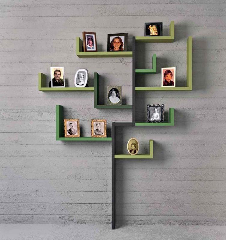 decorative wall shelves ideas - Decorative Shelving