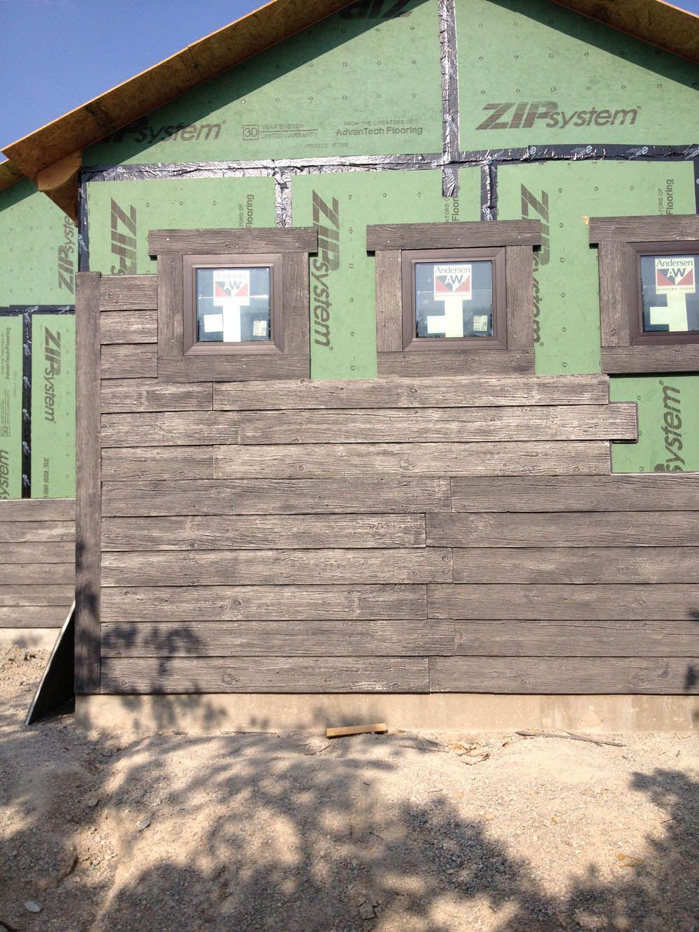 Faux Stone Sheets Most Durable Realistic Faux Stone Brick Wood Panels Wood Siding Exterior Exterior Siding House Siding