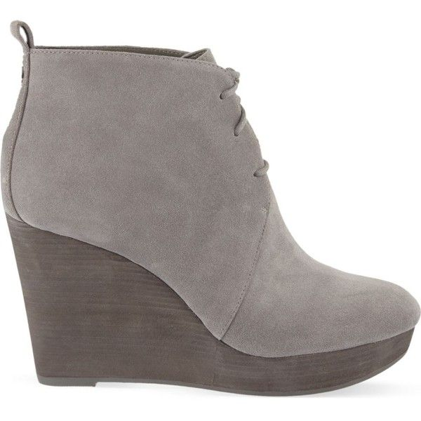 Wedge ankle boots, Suede wedges