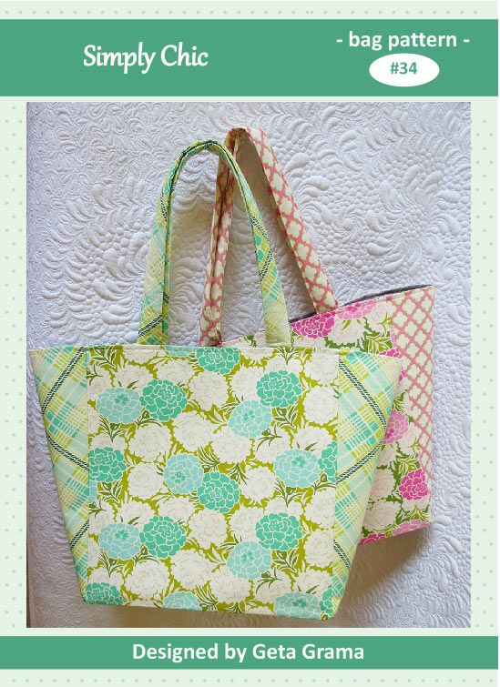aff11bd503ec Quick and easy to sew tote bag pattern