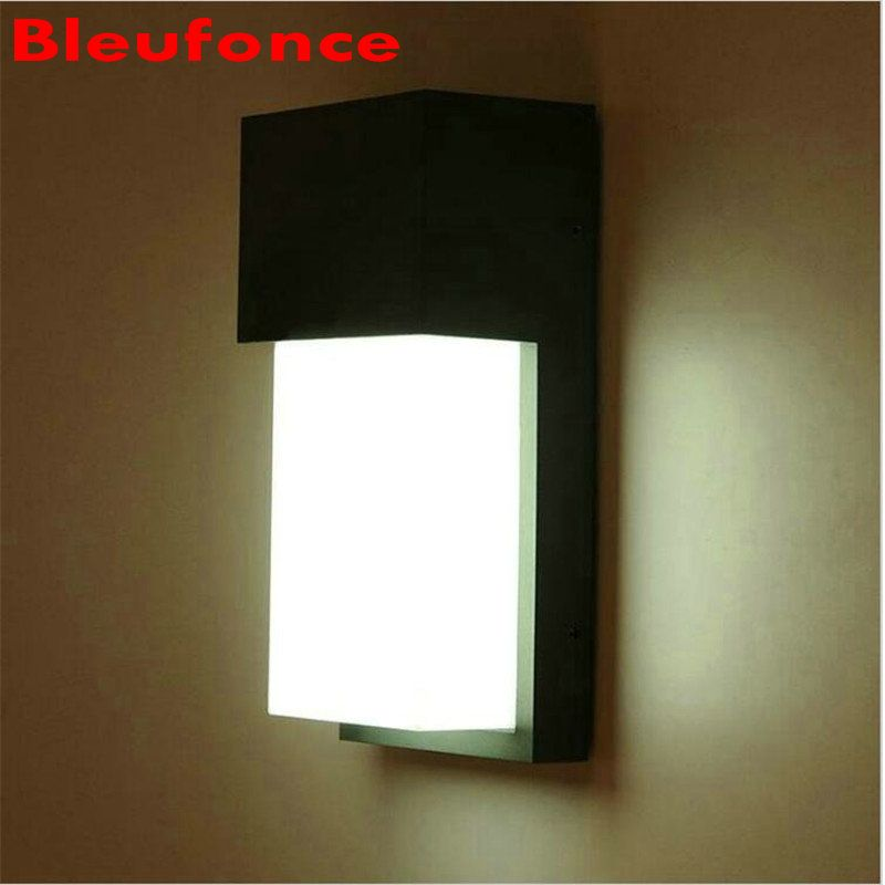 10w Led Waterproof Garden Light Outdoor Wall Lamp Ip65 Surface Wall Mounted Courtyard Led Wall Lights Ac90 260v Nb171 Hom Wall Lamp Led Wall Lights Wall Lights