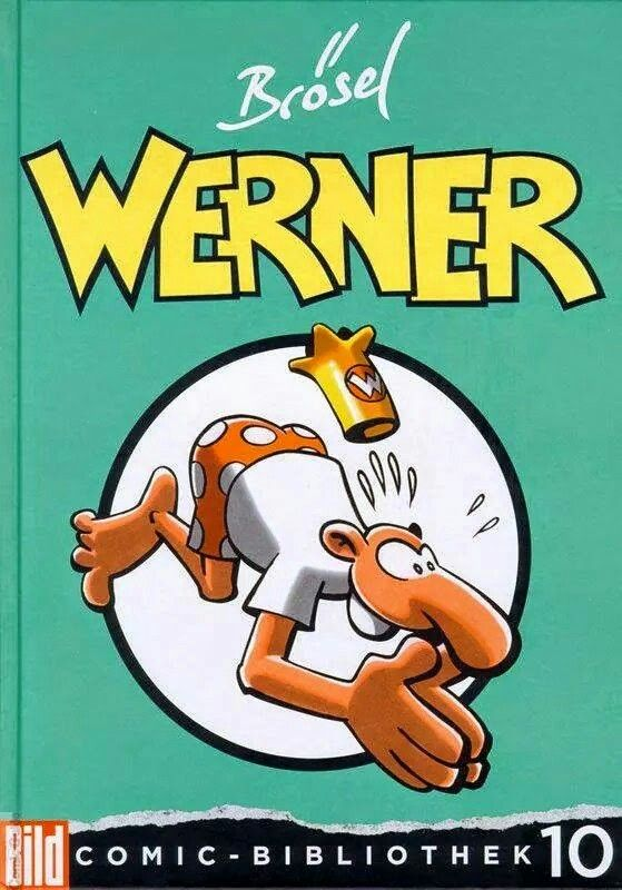 Werner Werner Comic Bibliothek