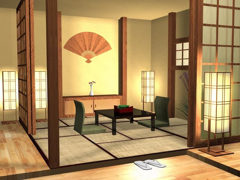 japanese style decorating, japanese decoration ideas | lights