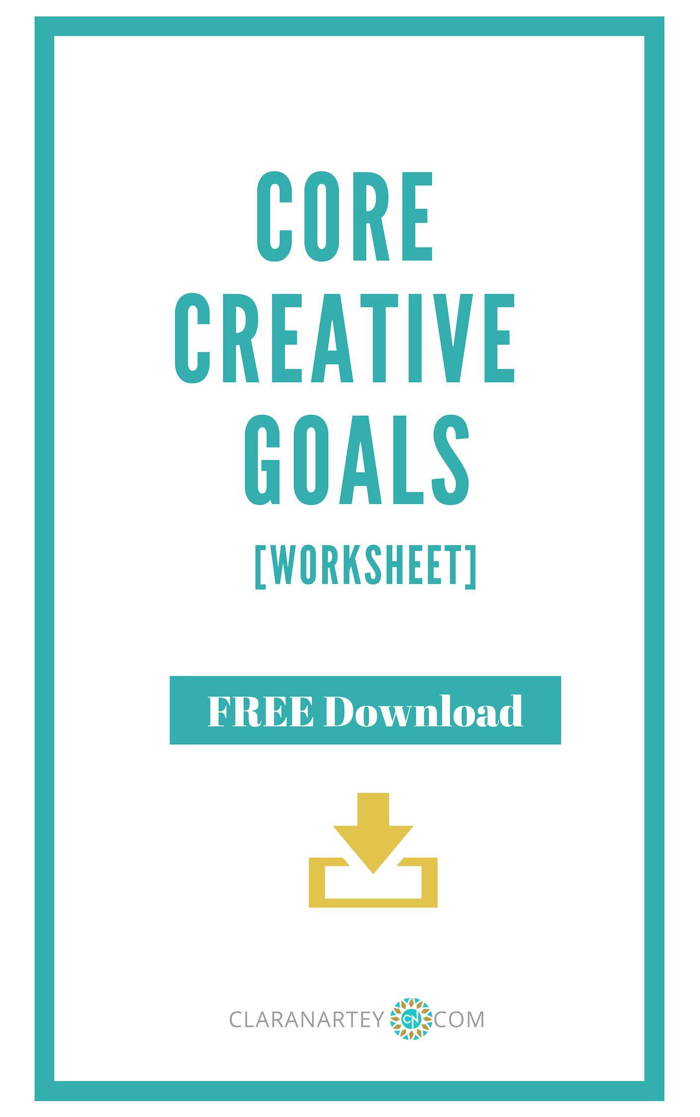 Core Creative Goals