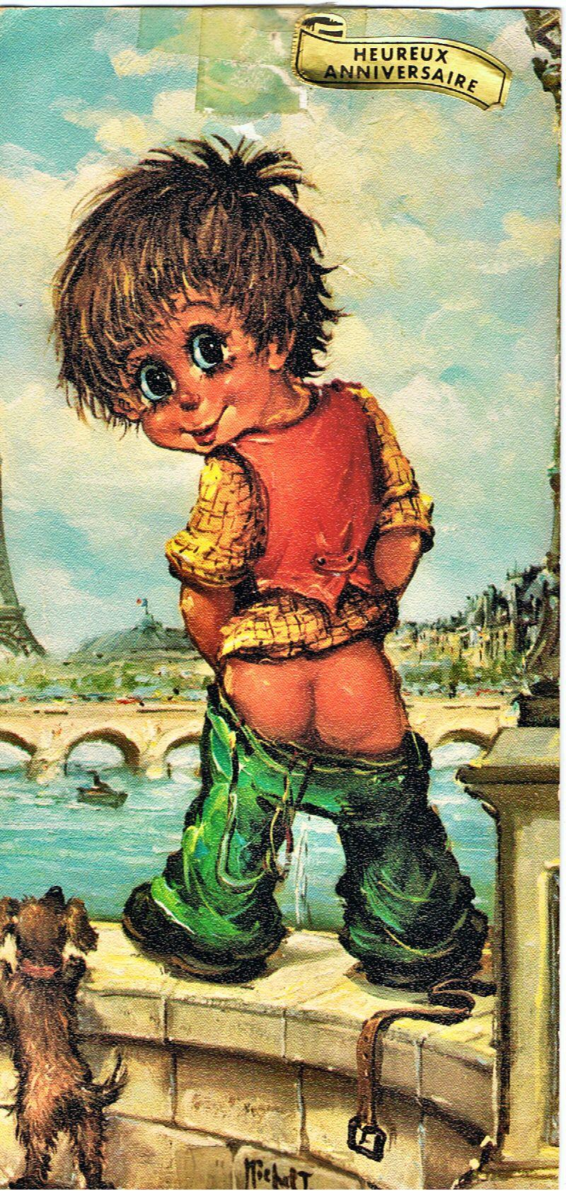 """Résultat de recherche d'images pour """"Un poulbot aux toilettes"""""""