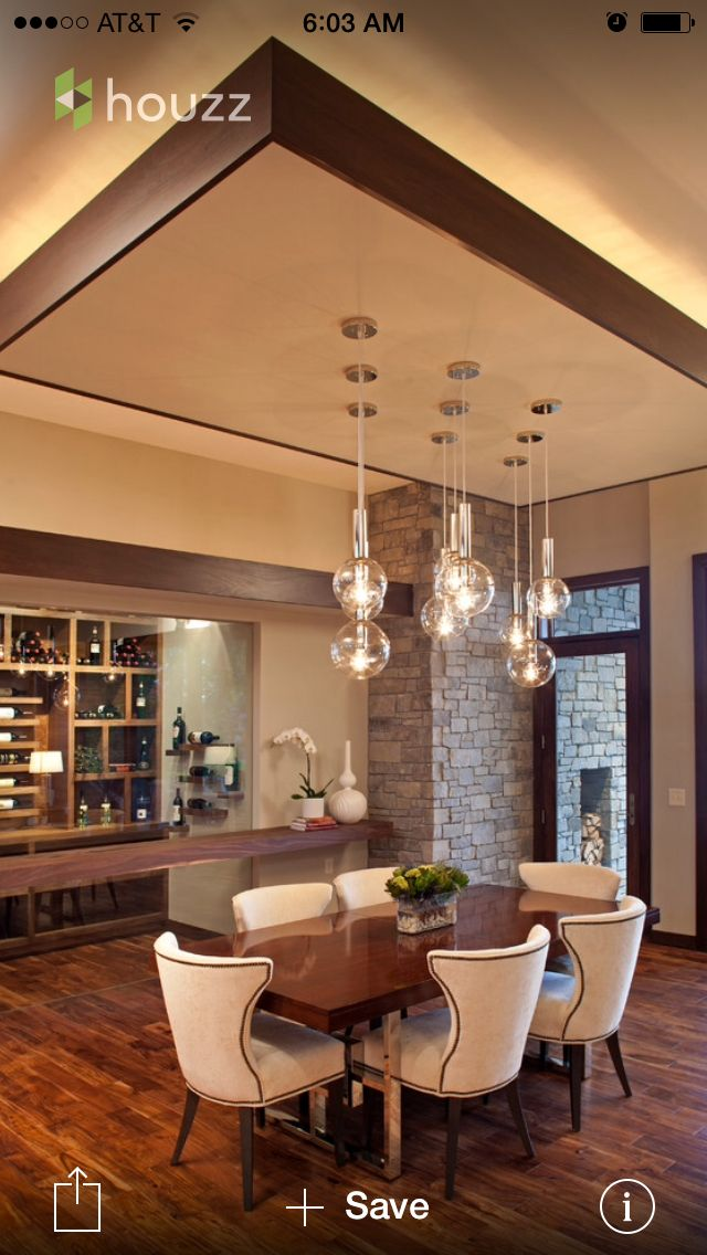 Pin By Tetyana Gerich On Dining Tables Ceiling Design Living Room False Ceiling Living Room Dining Room Ceiling