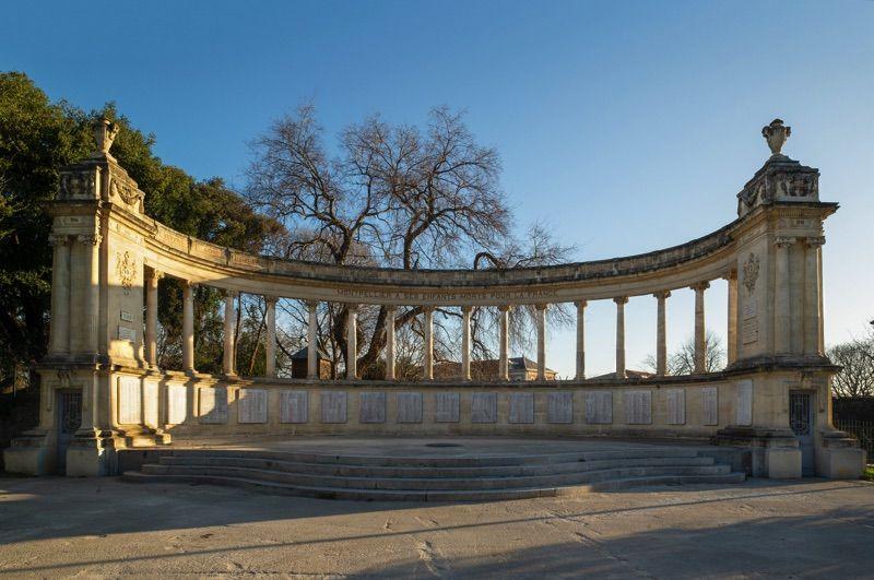 montpellier monument aux morts erige