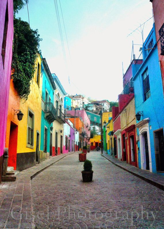 Guanajuato Mexico / Travel Photography / 8 X By