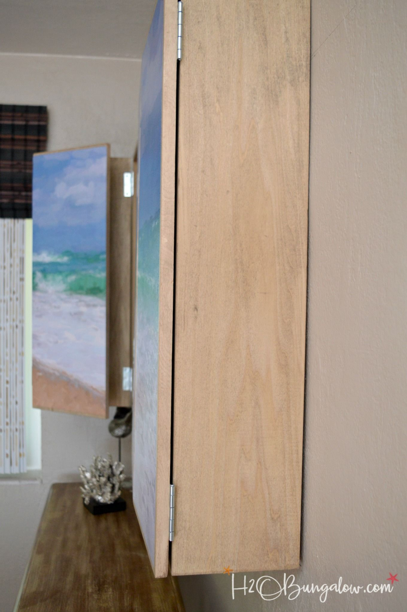 Free Plans For A Diy Wall Mounted Tv Cabinet Build A Cabinet To