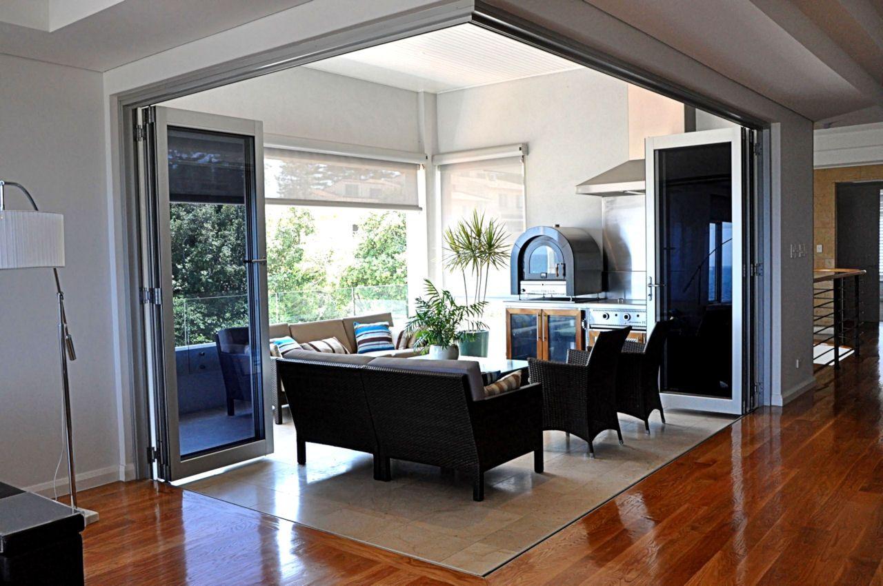 bifold corner doors Stacker doors, Home, Corner door