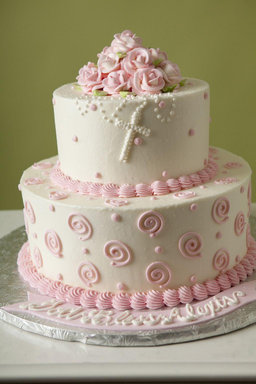 Single White Swirl Cake Pop