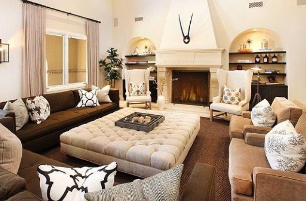 maximized seating for informal living room & maximized seating for informal living room | Five Oaks | Pinterest ...