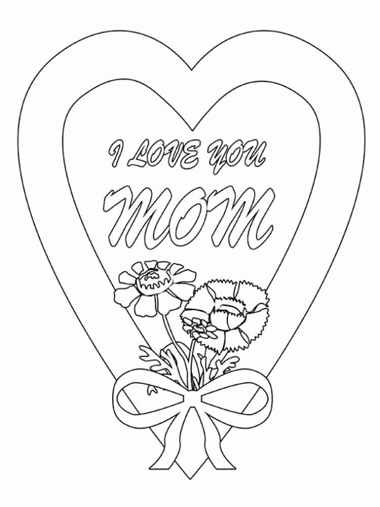Happy Birthday Mom Coloring Page Elegant Happy Birthday ...