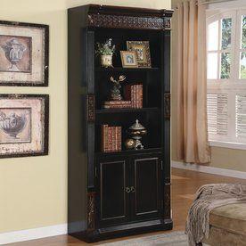 Coaster Fine Furniture Black Cherry Wood 3 Shelf Bookcase 800923