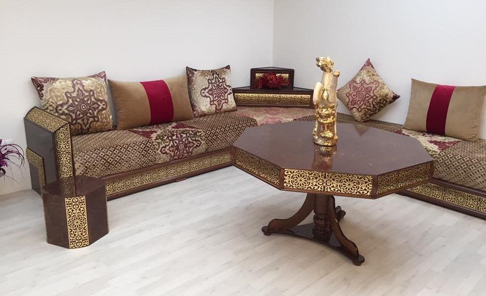 Salon Maroc Décoration: Vente salon marocain pas cher à Montpellier