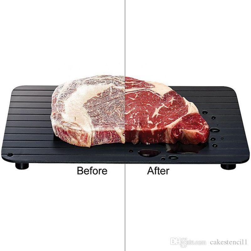 how to defrost steak in fridge