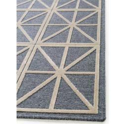 Photo of benuta Kurzflor Teppich North Beige/Blau 160×230 cm – Moderner Teppich für Wohnzimmer benuta