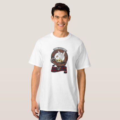 #Lindsay Clan Badge Men's Tall Light T-Shirt - #familyreunion #family #reunion