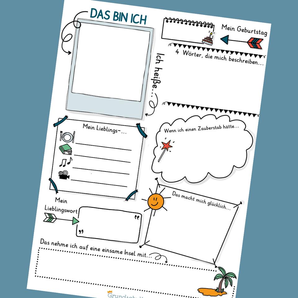 Steckbrief Erstellen Grundschule