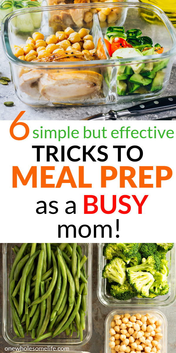 How To Meal Prep For A Busy Week | Meal prep, Meals, Low ...