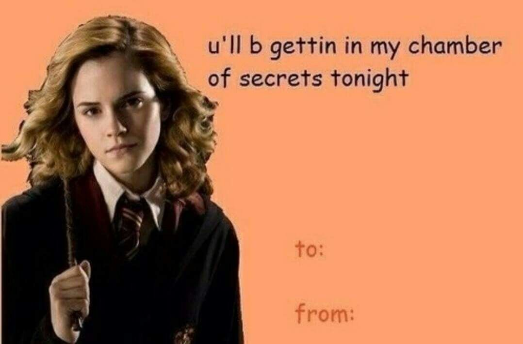 Pin By Hailey Peterson On Harry Potter Harry Potter Valentines Valentines Memes Harry Potter Valentines Cards