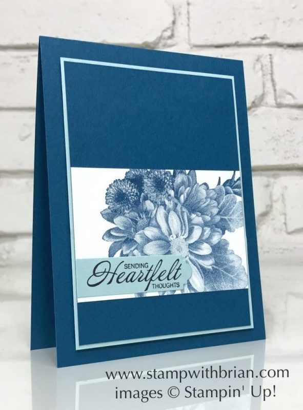 Heartfelt Thoughts With Heartfelt Blooms Stamp With Brian