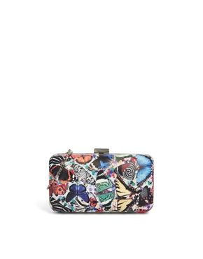 Textile Federation My Butterfly Box Clutch Bag