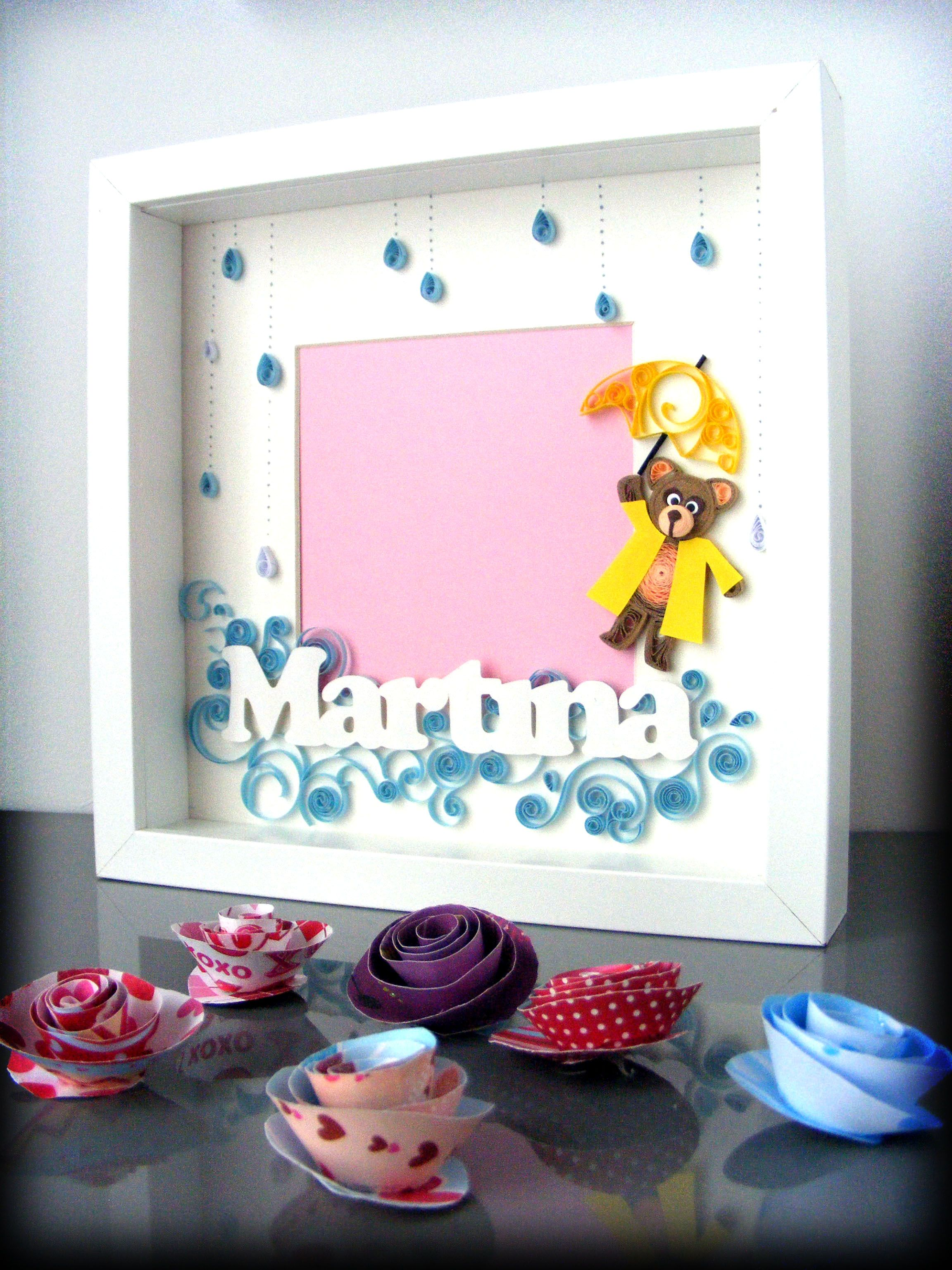 Quilling bear by Qmono | Quilling | Pinterest | Basteln