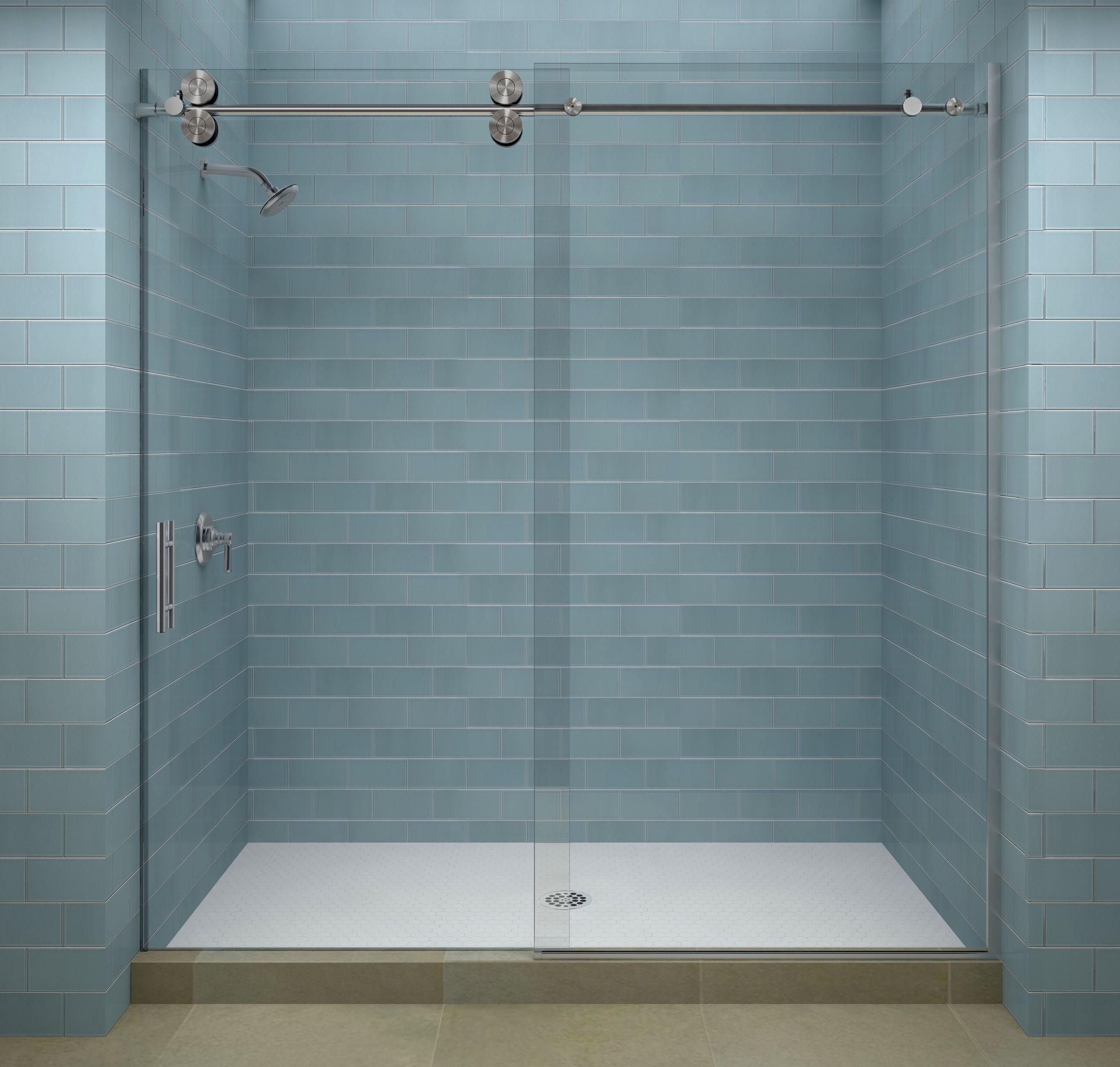 Serenity Frameless Shower Door | http://sourceabl.com | Pinterest ...