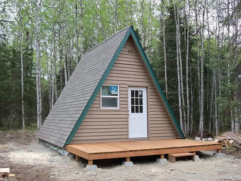 My Alaska Fishing Cabin A Frame Cabin Backyard Cabin Fishing Cabin