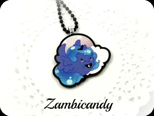 MLP my little pony princess Luna necklace