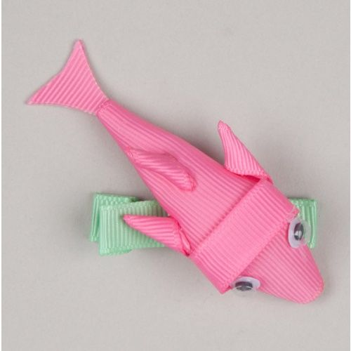 dolphin hair clip. .....doesn't tell directions.  Just thought I could make one from looking at it.