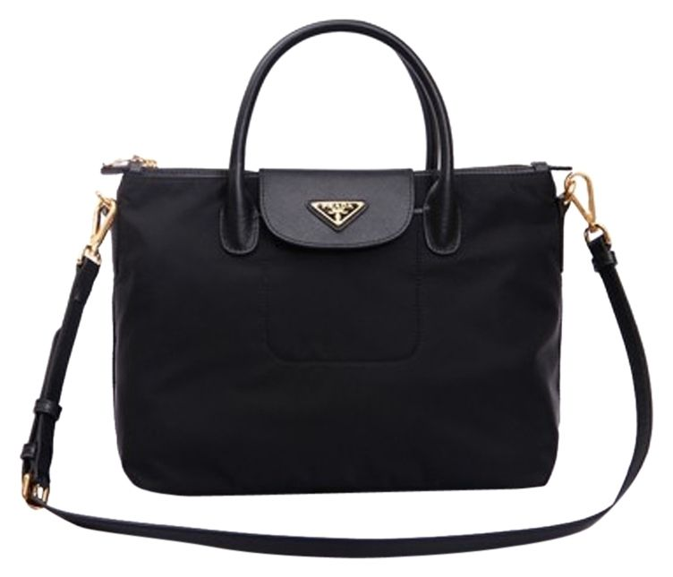 cda212a0276d Prada Bn2106 Black Tote Bag. Get one of the hottest styles of the season!  The Prada Bn2106 Black Tote Bag is a top 10 member favorite on Tradesy.