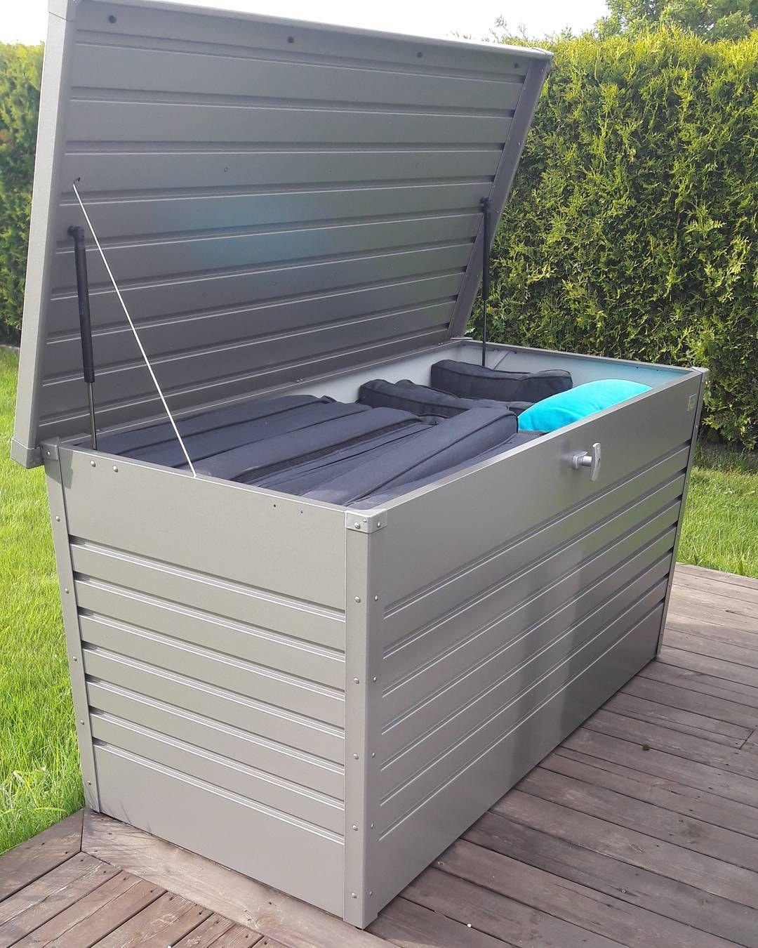 Die Wasserdichte Auflagenbox Aus Metall Auflagenbox Kissenbox Aufbewahrung Garten