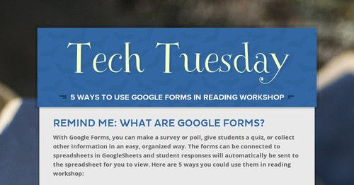 Remind me What are Google Forms? With Google Forms, you can make a
