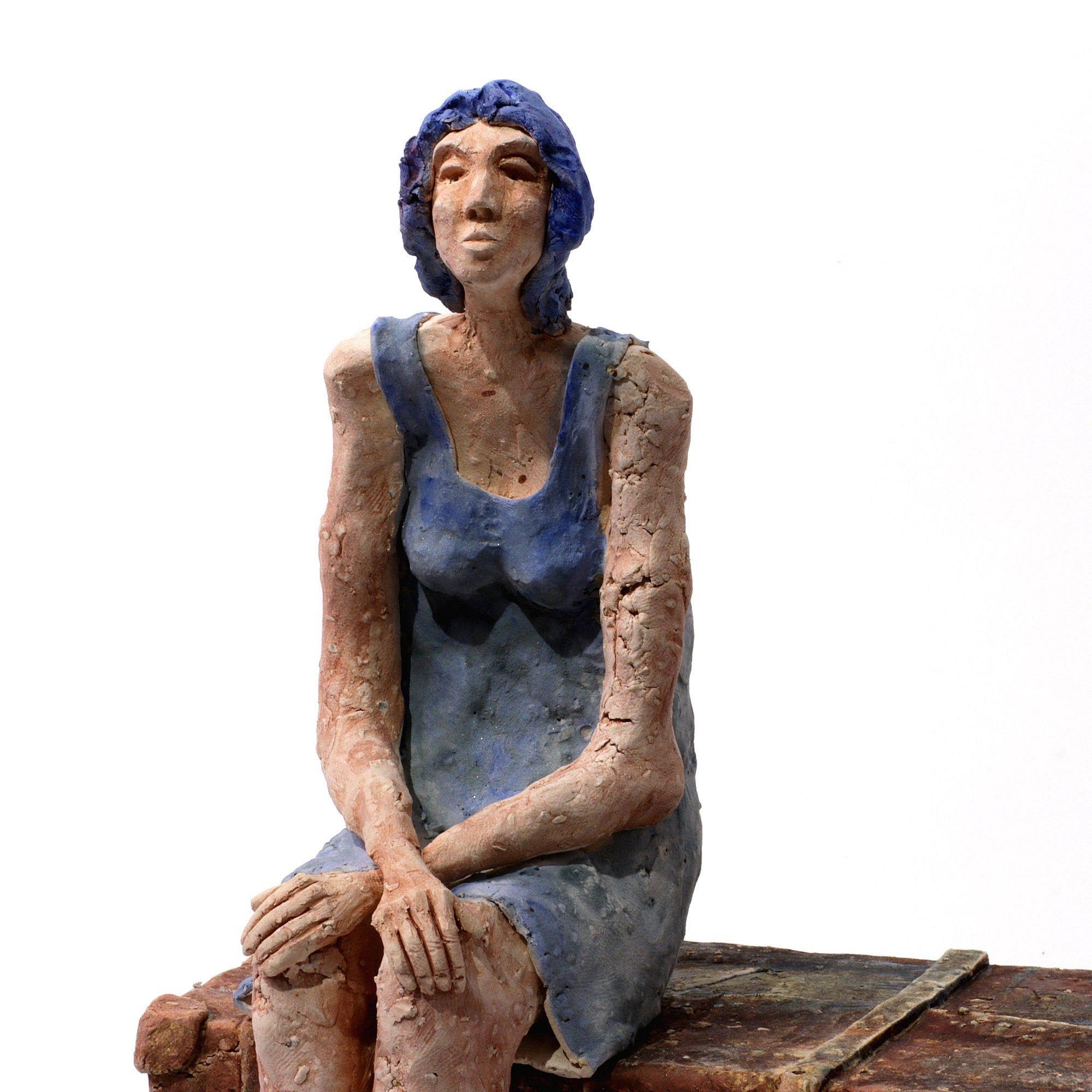 Expectancy Ceramic Sculpture Ceramic Woman Art Object Handmade Ceramic In 2020 Ceramic Sculpture Handmade Ceramics Sculpture