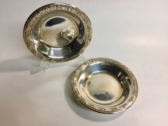 Vintage Silver Reed And Barton Small Silver Bowl 3059 Products