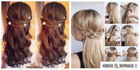 Fryzury Komunijne 2015 Komunia święta Long Hair Styles Hair I