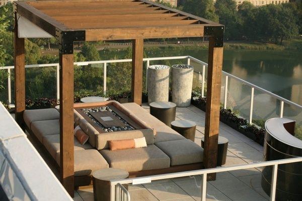 Terrasse bois  idées de terrasses et de salons du0027été Pergolas