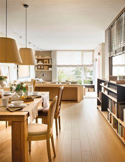 Vives En Un Piso Mini Mira Estas 30 Ideas Elmueble Com Casas Suelos Cocina Piso Pequeno Decoracion Casera