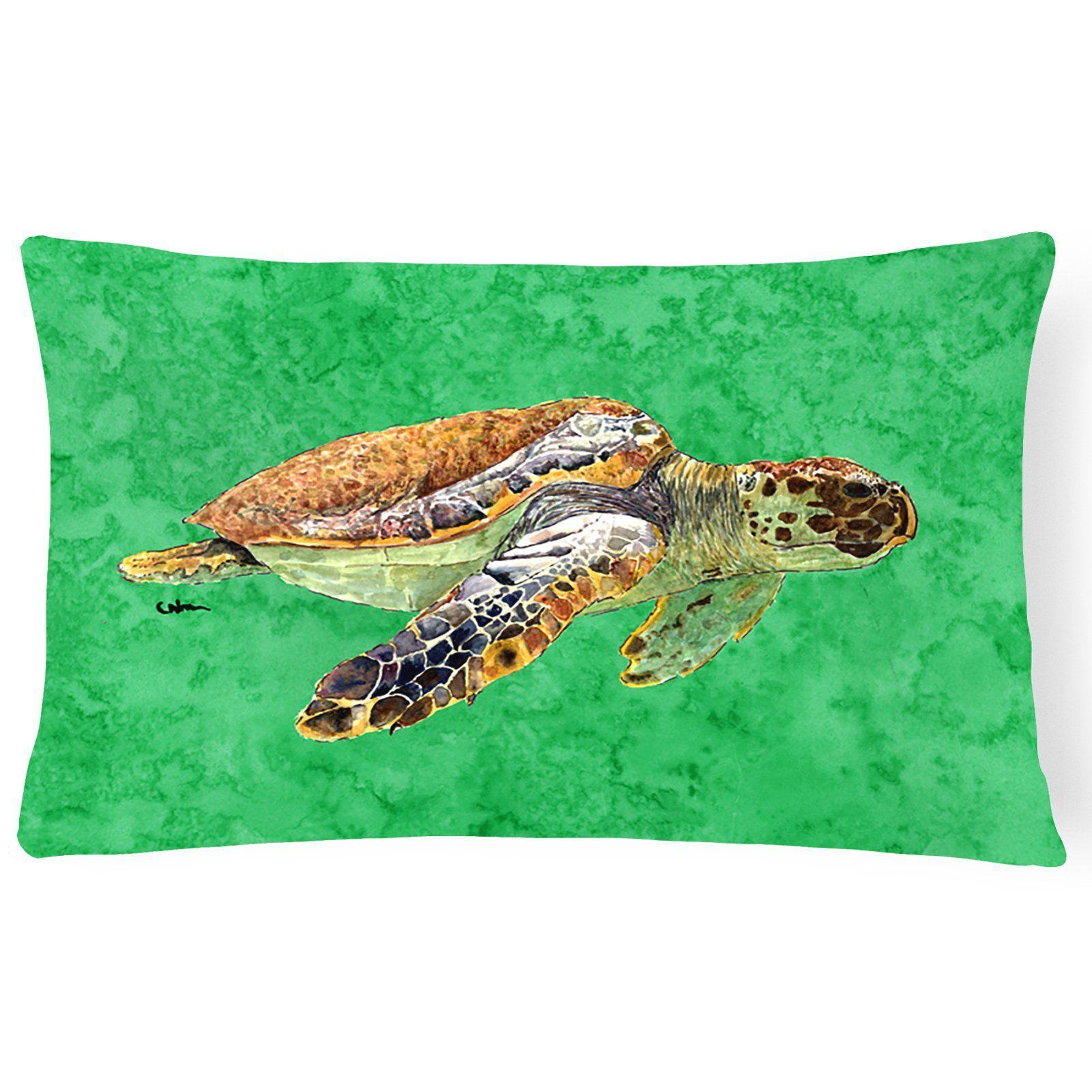 Carolines Treasures Sea Turtle Doormat 18 H x 27 W Multicolor