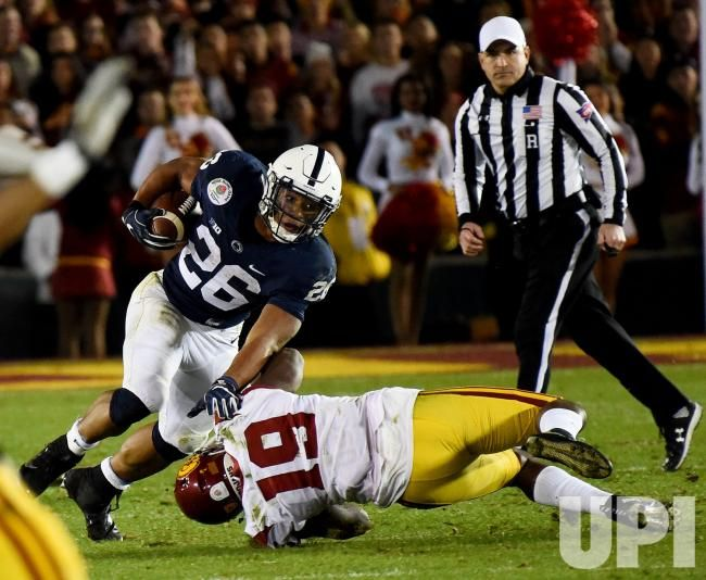 Penn State Nittany Lions Running Back Saquon Barkley 26 Is