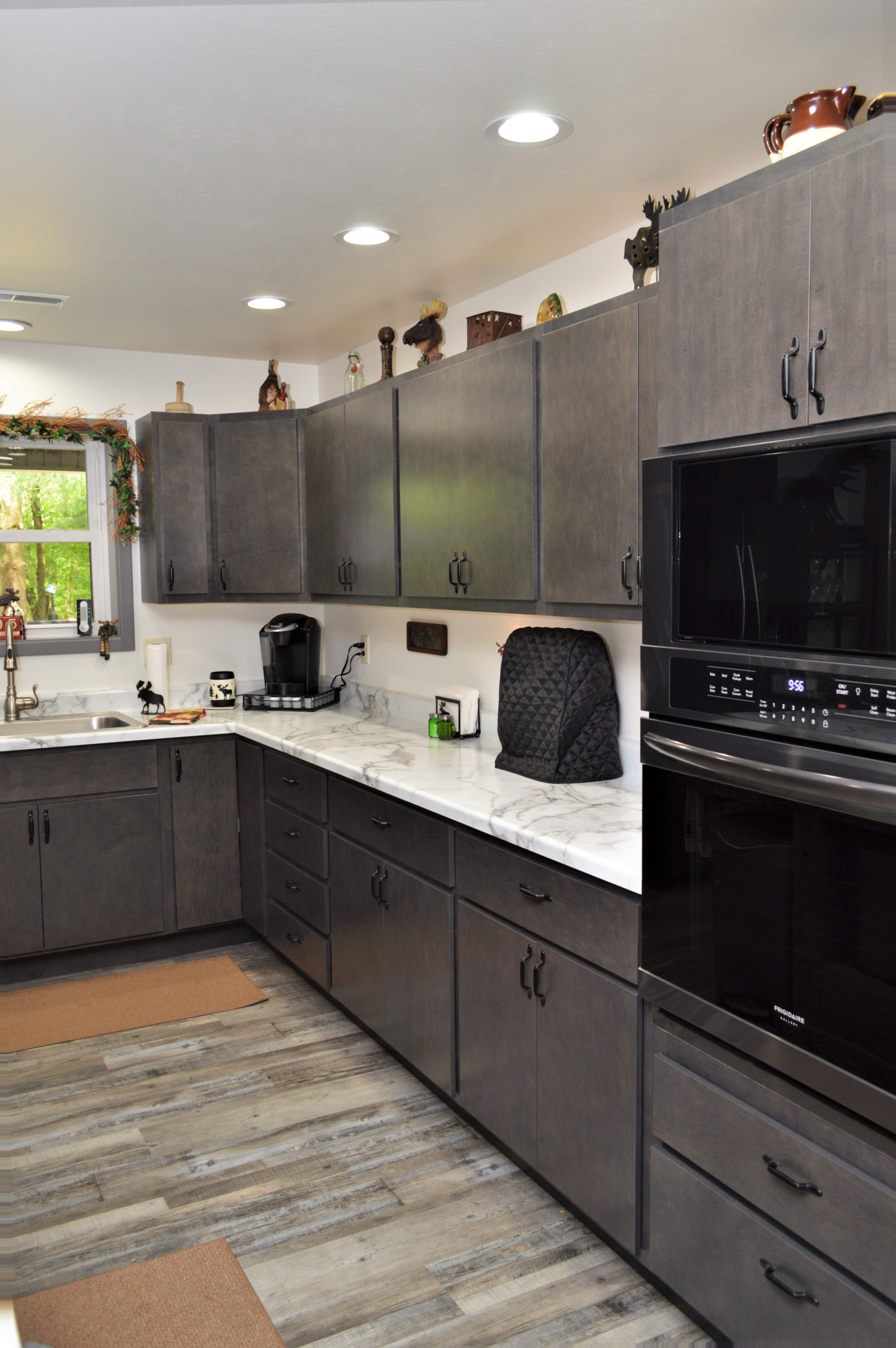 Bailey S Cabinets Baileytown Usa Select Maple Slate Finish Mission Standard Overlay Door Style In 2020 Maple Cabinets Cabinet Cabinetry