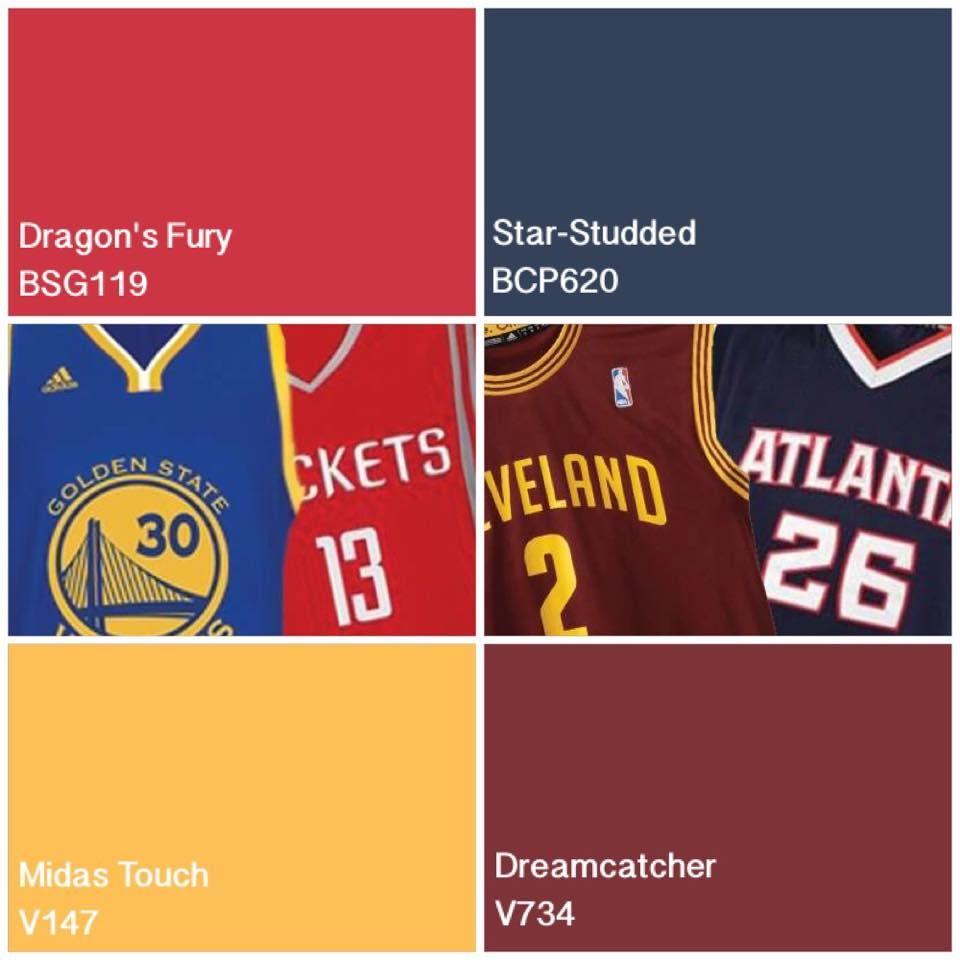 NBA Boysen Boysenpaints Interiordesign Color Sports Basketball NBAPlayoffs Featured Colors Series G BSG119 Dragons Fury Virtuoso V147