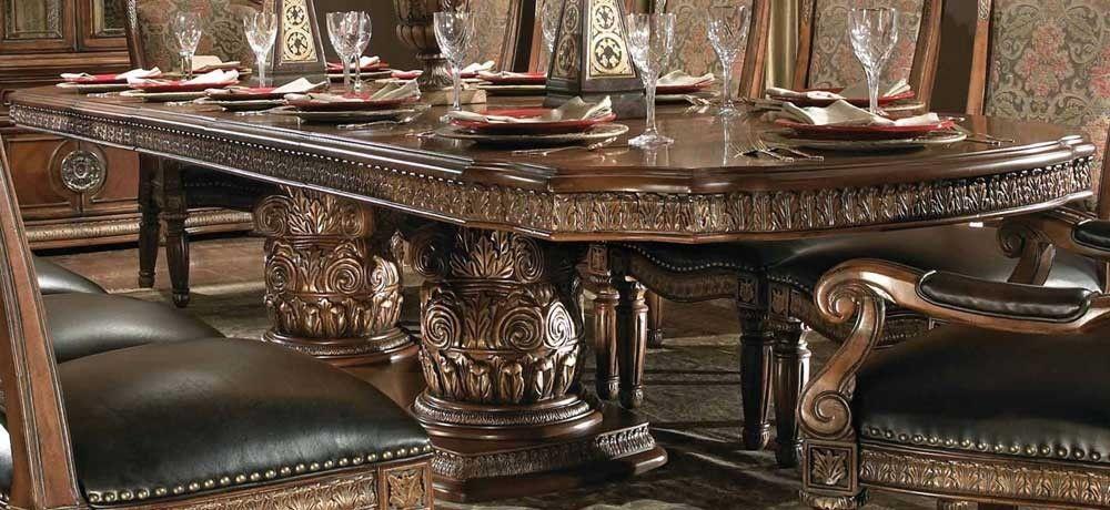 Aico Villa Valencia Dining Table By Michael Amini Eclectic