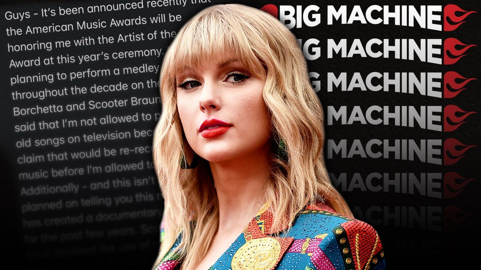 تايلور سويفت تستنجد بمعجبيها وشركة Big Machine تغلق أبوابها بسبب تهديدات بالقتل American Music Awards Guys Performance
